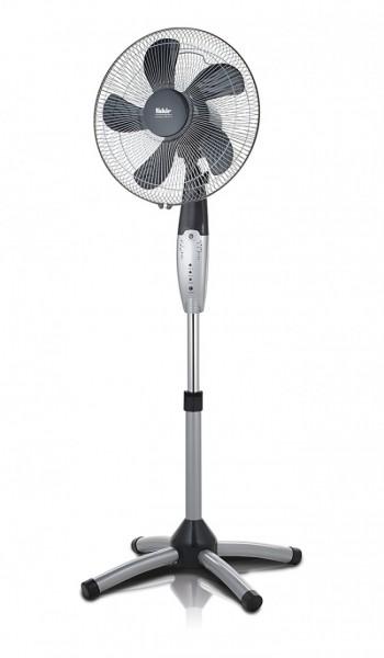 Fakir prestige VC 40 S | Standventilator, silber/dunkelgrau - 55 Watt