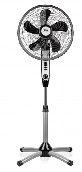 Fakir prestige VC 20 S | Standventilator, silber / anthrazit - 55 Watt