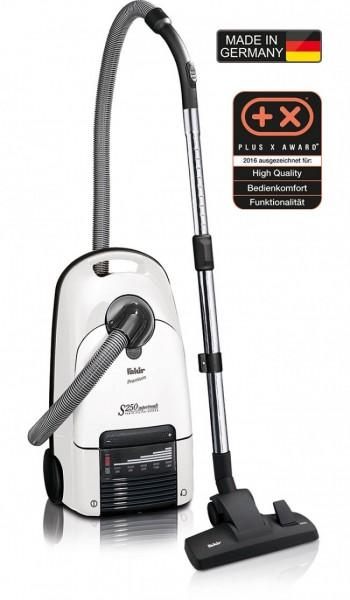 Fakir premium S 250 | Bodenstaubsauger, arktisweiß / anthrazit - 800 Watt