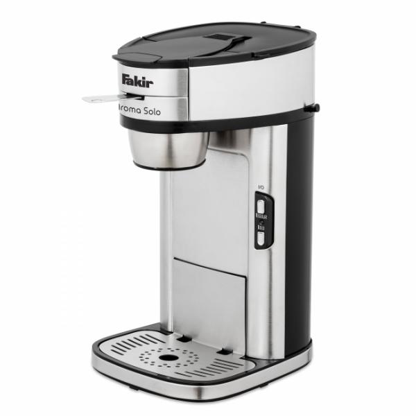 Fakir Aroma Solo | Filterkaffeemaschine, silber - 1.300 Watt