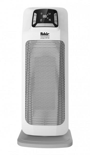 Fakir prestige HT 400 | Keramik-Turmheizlüfter, hochglanzweiß - 2.000 Watt