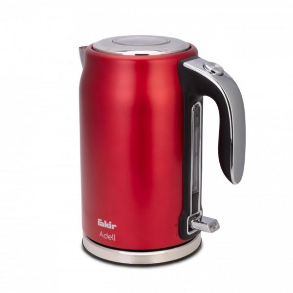 Fakir Adell | Wasserkocher, rot - 2.200 Watt