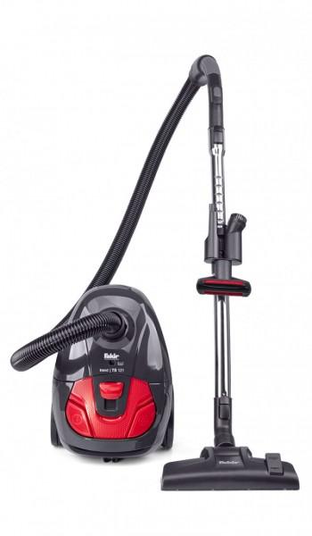 Fakir trend TS 121 | Bodenstaubsauger, schwarz/rot - 700 Watt
