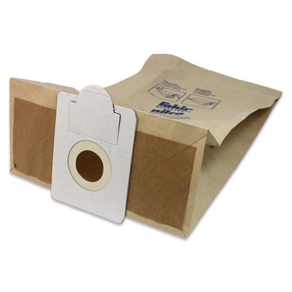 2 Packungen mit 5 Papier-Staubsaugerbeutel für premium | S 20 E, premium | S 20 Eco