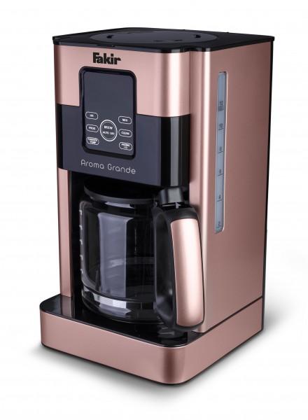 Fakir Aroma Grande   Filterkaffeemaschine mit Glaskanne, rosé - 1.000 Watt