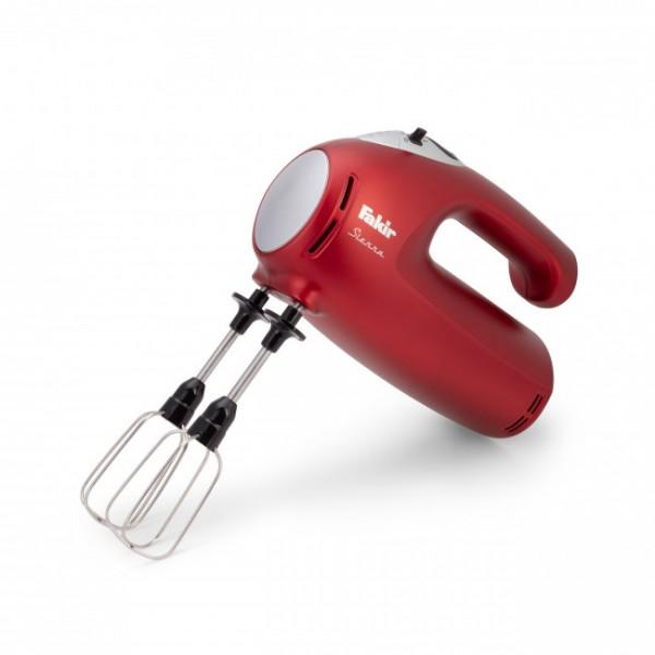 Fakir Sierra | Küchen-Handmixer, rot - 425 Watt