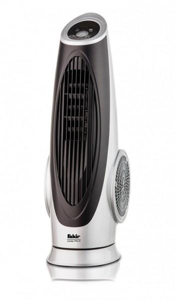 Fakir prestige TVL 90 | Turmventilator, silber/schwarz - 90 Watt