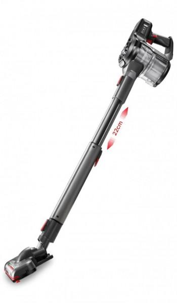 Fakir Starky HSA 800 XL Q | Akku Hand- und Stielstaubsauger, graphit/schwarzchrom - 380 Watt