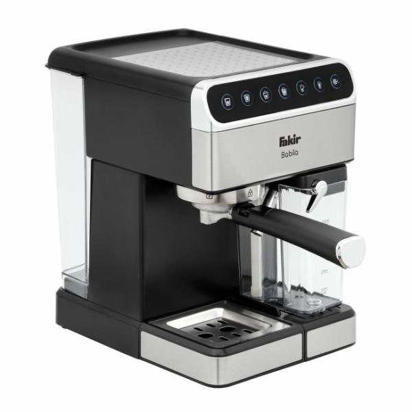 Fakir Babila   Siebträger-Kaffeemaschine, silber - 1.350 Watt