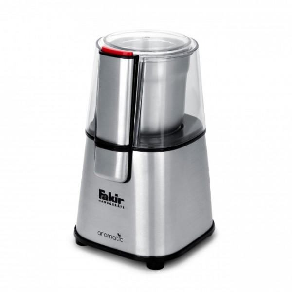 Fakir Aromatic | Kaffeemühle, silber - 220 Watt