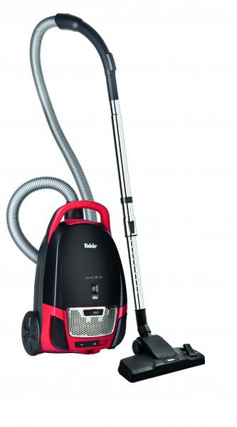 Fakir Red Vac TS 120 | Bodenstaubsauger, schwarz/rot - 700 Watt