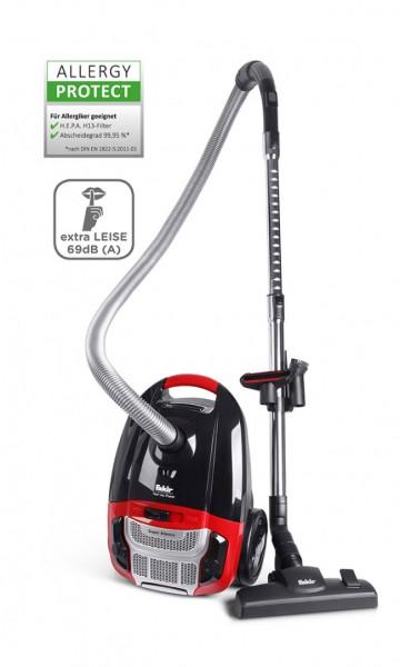 Fakir Red Vac Power | Bodenstaubsauger, schwarz/rot - 700 Watt