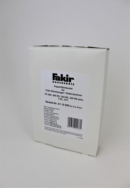 1 Packung = 5 Stück Papierfilter für EB 3 SL