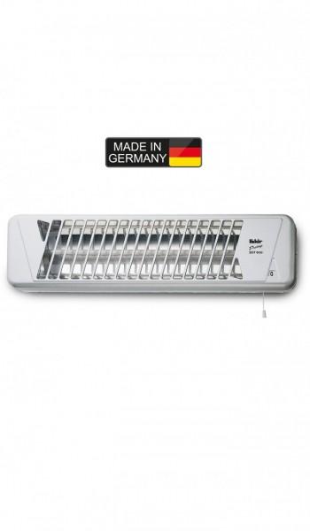 Fakir prestige HQ 1200 | Quarzstrahler, silber/weiß - 1.200 Watt